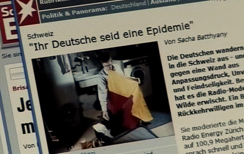 Campagne anti-allemande en Suisse