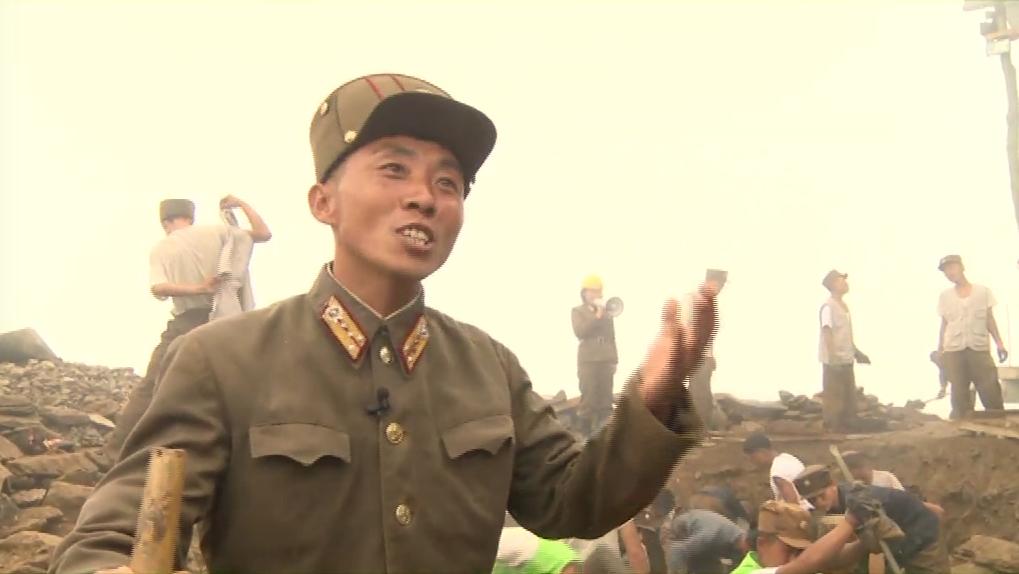 North Korea builds giant ski resort